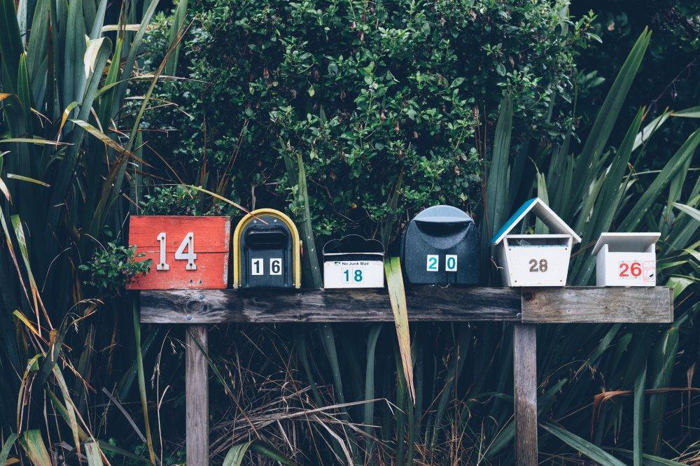 Bestill et billig postkasseskilt