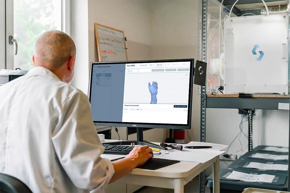 Slik produseres skreddersydde proteser